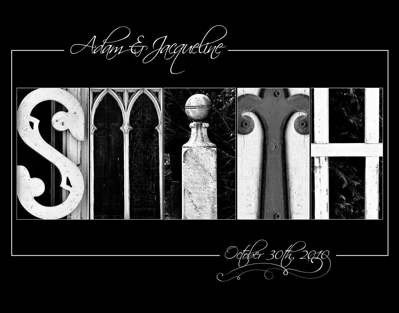 Alphabet Photo Letter Art Letter Photography By Senterstudios