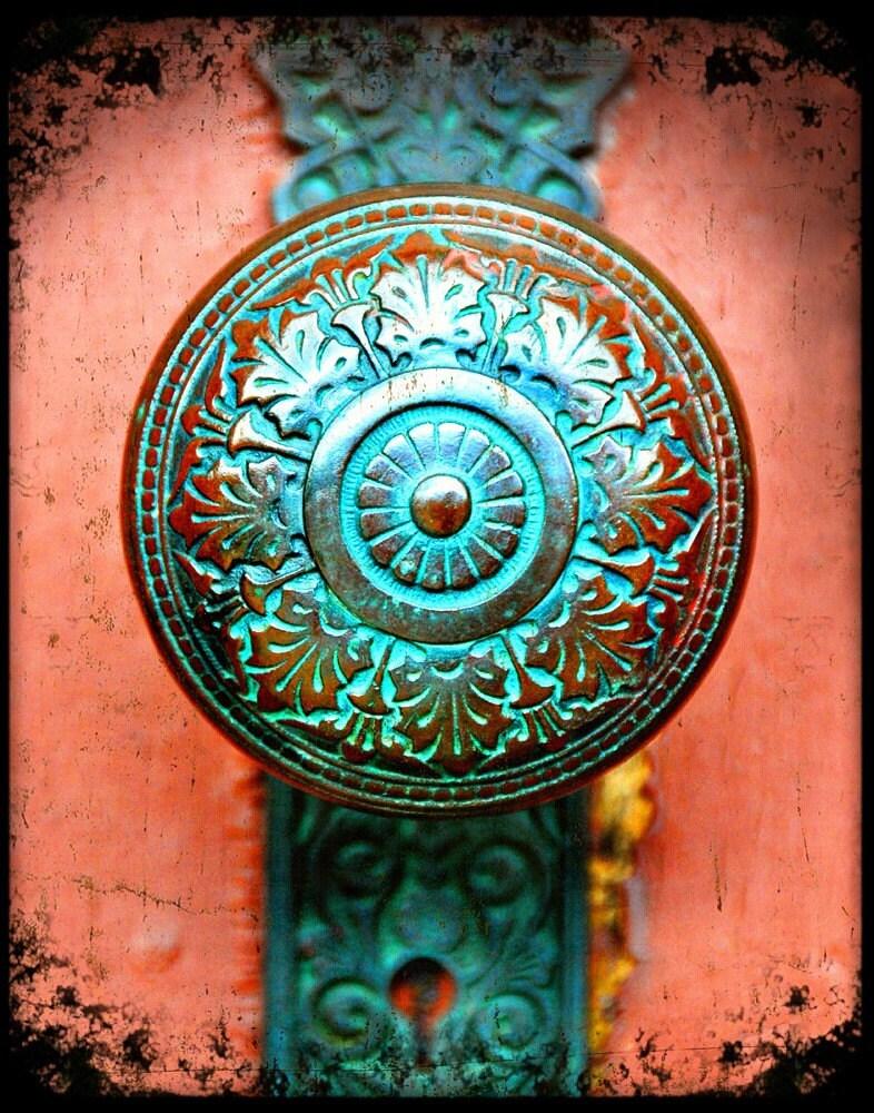Antique Verdigris Doorknob Fine Art Photography Print