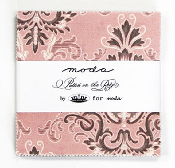 Puttin on the Ritz by Bunny Hill Designs 5 inch charm pack Moda Fabric