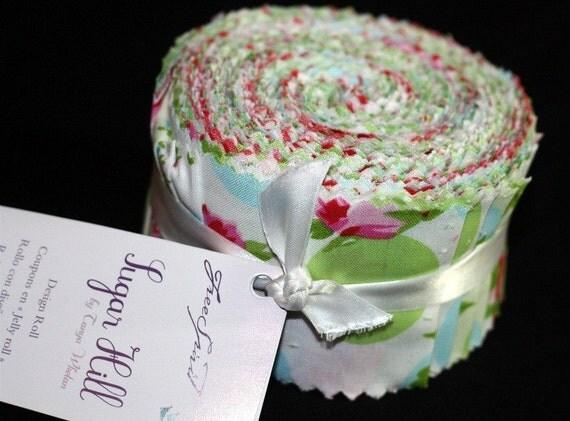 SALE Sugar Hill 2.5 inch Design Roll strips fabric Tanya Whelan