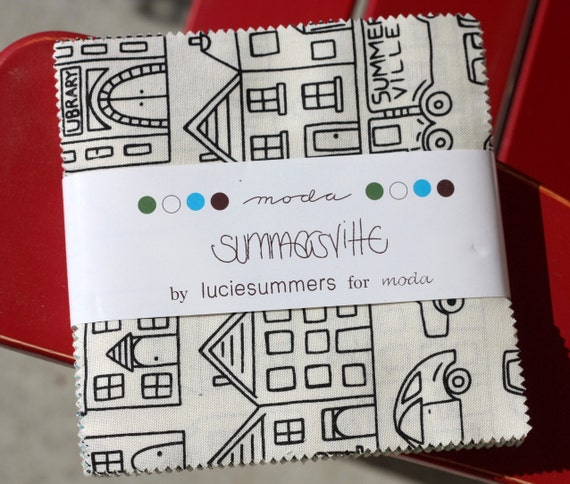 5 inch charm pack - Summersville - Moda Fabric