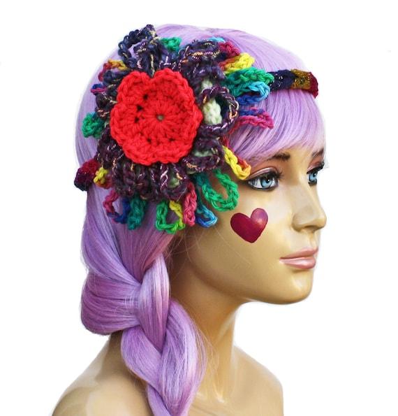 Flower Hippie Headband- Circus Gypsy