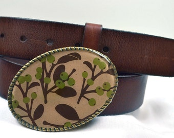 Branch of Nature Belt Buckle