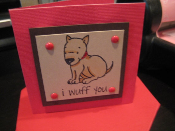 Itty Bitty Bull Terriers--Set of 5 Cards with Envelopes