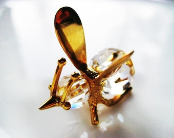 REDUCED - MOSQUITO Crystal Figurine