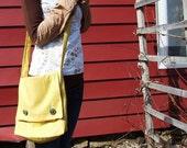 Egg Yolk Messenger Bag