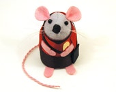 Star Trek Collectable Scotty Mouse ornament felt cute gift for Star Trek fan gift for trekkie star trek gift collector - In stock