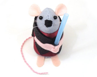 Star Wars Anakin Skywalker Mouse ornament artisan Star Wars gift for husband boyfriend brother dad granddad uncle rat hamster mice