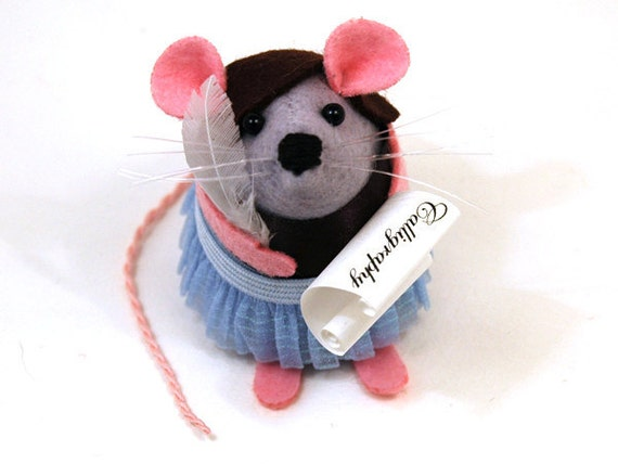 Reserved for Aurelie - Calligraphy Mouse