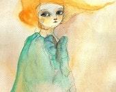 Loretta , Portrait Print 4x6 inches