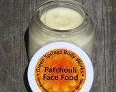 Organic Patchouli Face Food Moisturizer-Paraben Free