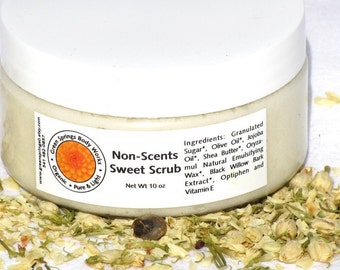 Non Scents Sweet Scrub - Body Polish