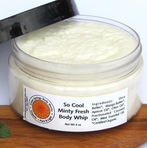 So Cool Minty Fresh Shea  Body Whip
