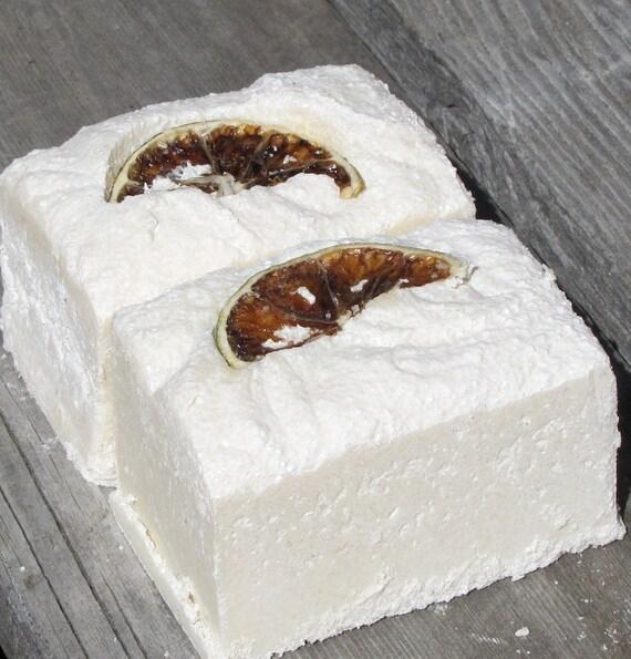 Organic Goat Milk Soap Salty Citrus Sweet Spa Bar