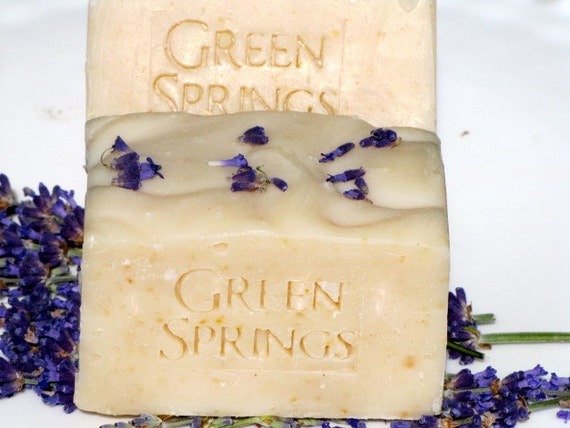 Organic Luscious Lavender Cold Process Goat Milk Soap