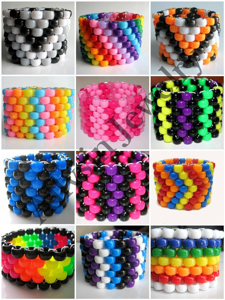 custom kandi cuff create your own jewelry you