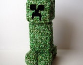 Crochet Minecraft Creeper Inspired Pattern PDF