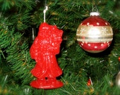 3 Scented Santa Ornaments