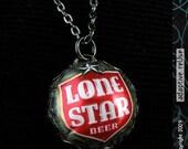 Lone Star Filigree Necklace