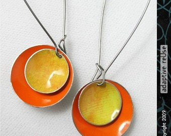 Persimmon Textured Yellow--Double Basin Drops