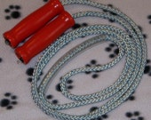 Wooden Handle Jump Ropes - 7 Foot for Child or Adult 5ft to 5ft 6 in.