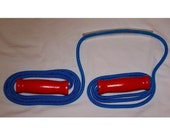 Wooden Handle Jump Ropes - 8 Foot for Youth or Adult 5ft to 5ft 6in. tall