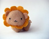 Small Gold Lizzie, the Giggly Lion