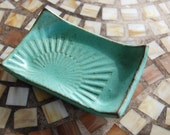 Soap Dish in Turquoise - Made to Order
