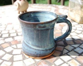 Small Slate Blue Mug- Made to Order