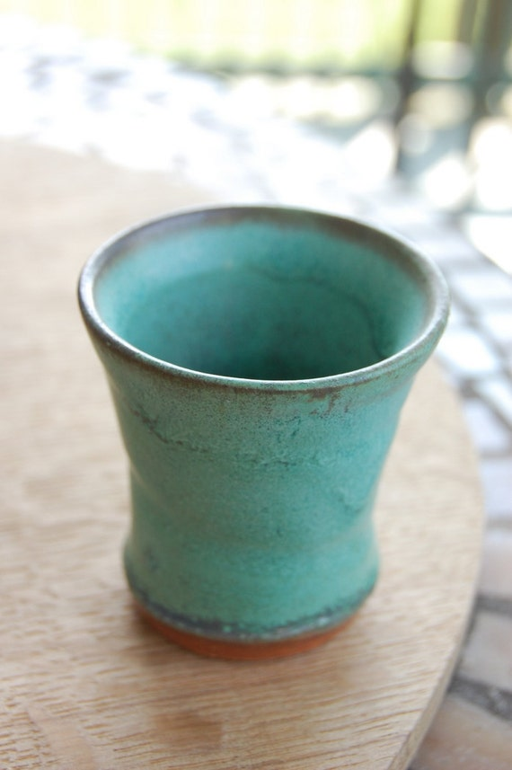 Turquoise Shot Glass or Egg Cup - Made to Order