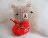 Amigurumi Crochet Pattern - Teddy Bear in Boot