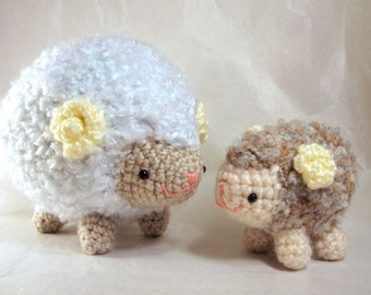 Amigurumi Crochet Pattern - Sheep Family Collection