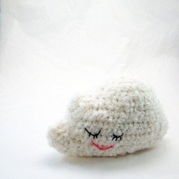 Amigurumi Crochet Pattern - Sleepy Cloud