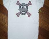 Skull Boy Baby One-Piece