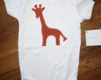 Jaunty Giraffe Baby One Piece