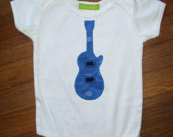 Blue Guitar Baby One-Piece