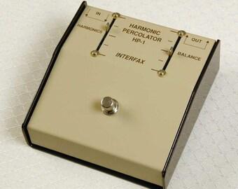 Harmonic Percolator  INTERFAX exact duplicate  HP-1