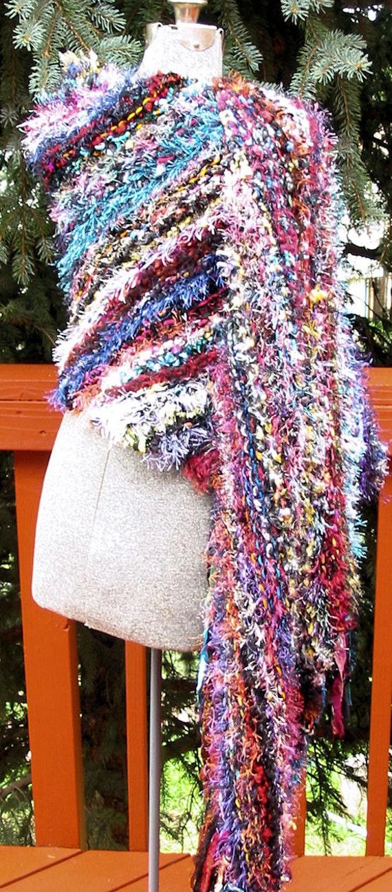 Colorful Gypsy Shawl