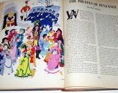 A Treasury of Gilbert and Sullivan Vintage 1940s Song Book and Operattas