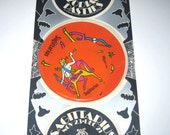 RESERVED FOR DANIELLE Vintage 1960s or 1970s Set of 6 Zodiac Pasties or Stickers in Original Package Sagittarius
