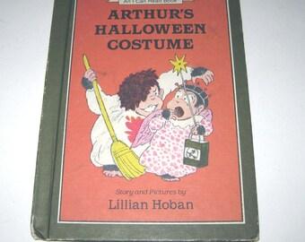 Arthur's Halloween Costume Vintage 1980s Children's Book by Lillian Hoban