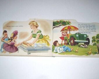 Ice Cold Lemonade Vintage 1940s Children's Book by Samuel Lowe