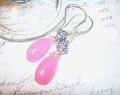 Sale UrbanRomantic Pink Candy Earrings