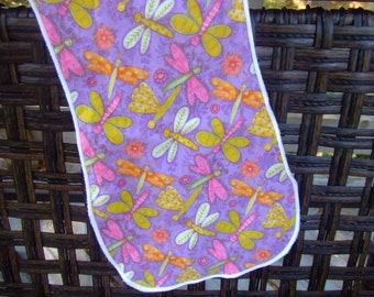 Colorful Dragonfly Burp Cloth SALE