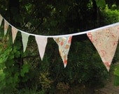 Paisley and Polker Dot Bunting