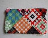 Zip Pouch - patchwork