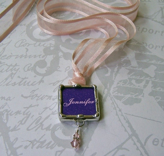 Wedding Bouquet Charms Monogramed, Bridesmaid Gifts, Bridal Party Keepsake, Personalized