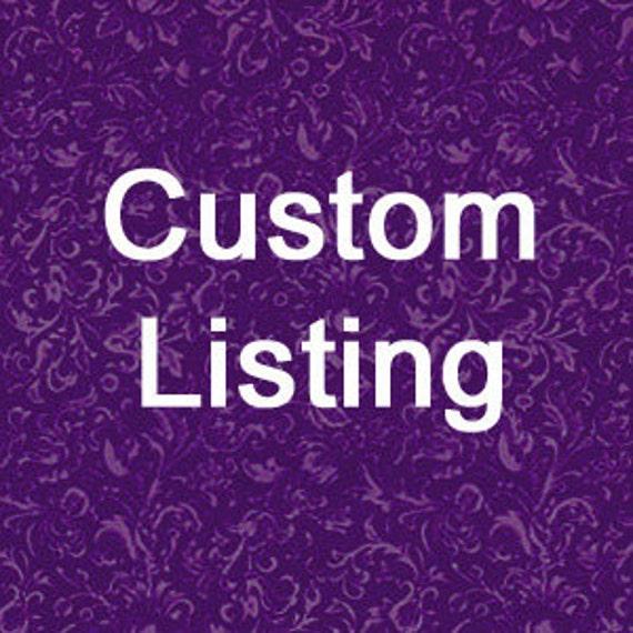 Custom order for Jina