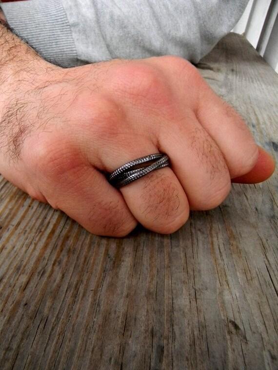 Russian wedding rings men - Polyvore