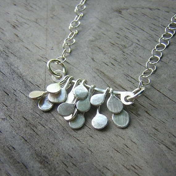 The Flapper Necklace in Sterling Silver